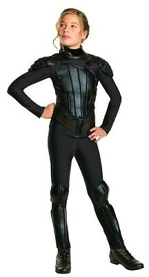 Deluxe Mädchen The Hunger Games Katniss Rebellierend Büchertag (Mädchen Katniss Kostüm)