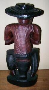 2 Large Crafted Wooden Statues Stratford Kitchener Area image 7