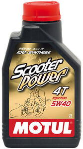 MOTUL-SCOOTER-POWER-4T-5W-40-OLIO-MOTORE-100-SINTETIC-per-MAXI-SCOOTER-KYMCO
