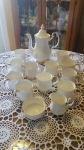 Val D'or Royal Albert Coffee Set