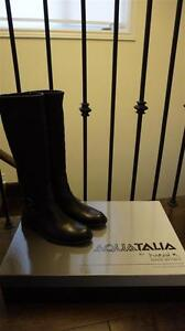 DESIGNER:  AQUATALIA WATERPROOF TALL BOOTS - BRAND NEW