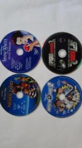 Plusieurs films sur cassettes VHS  et DVD