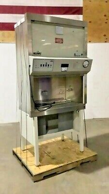 Bio Safety Fume Cabinet Nuaire Model 425-300 On Stand