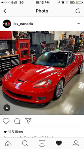2005 CORVETTE READY FOR THE SUMMER NEW ZO6 TRANS, REAR END,& CLU