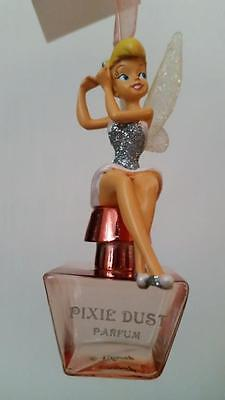 "Disney Weihnachtsschmuck/Ornament zauberhafte"" Tinkerbell"" Pixie Dust Parfum NEU"