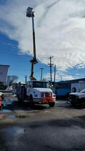 98 Freightliner FL80, Bucket Truck / Cable Placer / Arborist