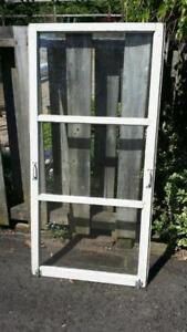Antique Shabby Chic window with handles