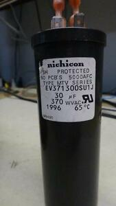 HVAV capacitors 30uF 370V made by NIchicon