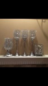candle holders/decorations