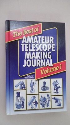 First Edition 2003 Best of Amateur Telescope Making Journal Vol. 1 Willman (Best Amateur Telescopes)