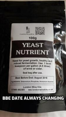 YEAST NUTRIENT 100g Home brew and wine additive