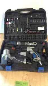 Mastercraft Air Tool Set with Attachments
