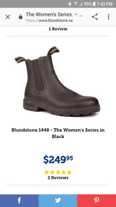 Blundstone Women's Boots - Black - Like New Size -6 UK or 8.5 US
