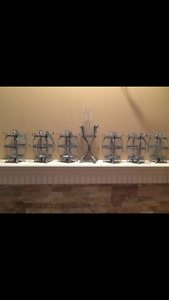 candle holders/decor