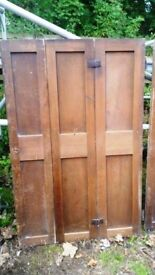 Genuine Farmhouse Window Shutters x 3