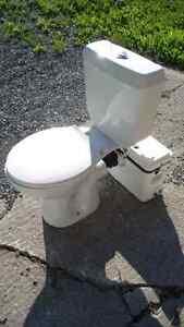 Sani Flush Basement Toilet - Works Perfectly