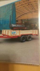 TANDEM AXLE COMMERCIAL TRAILER