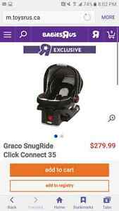 Graco Snug ride click connect 35 Car seat and base