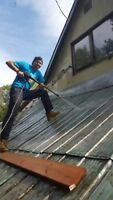PAINTING/SEALING OF METAL ROOFS/WAREHOUSES