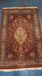 Hand Knotted Wool Rug by Mori Kashan