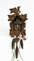ANTON SCHNEIDER SOHNE GERMAN CARVED CUCKOO CLOCK Lot 224