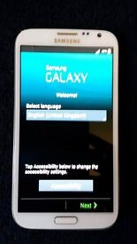 white samsung galaxy note 2 any network