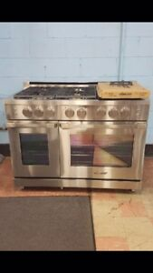 "NEW 48"" DACOR ALL GAS STAINLESS STEEL RANGE $7500"