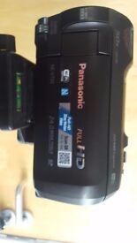 Panasonic HC-V750 + 64GB SD Card + Tripod + Boom Mic