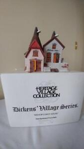 Department 56 1 Dickens & 2 New England Villages Series 1990's.