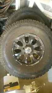 Ford f-150 tire/rim package 315/70r17