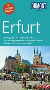 Erfurt 2015 ungelesen Stadt -  Reiseführer + Stadtplan Karte   Dumont direkt