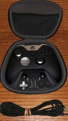 Microsoft Xbox One Elite Wireless Controller With All Accessories And Case