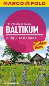MARCO POLO Reiseführer Baltikum, Estland, Lettland, Litauen  10. Auflage 2013