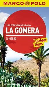 !! La Gomera El Hierro  2015 UNGELESEN Reiseführer mit Karte Marco Polo