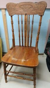 Chaise Antique bois PressBack