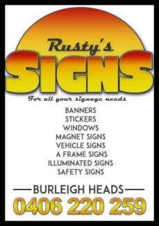 Rusty's Signs