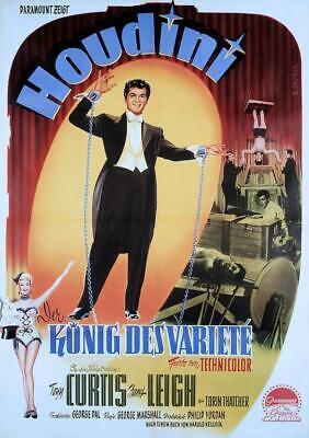 Houdini Starring Tony Curtis