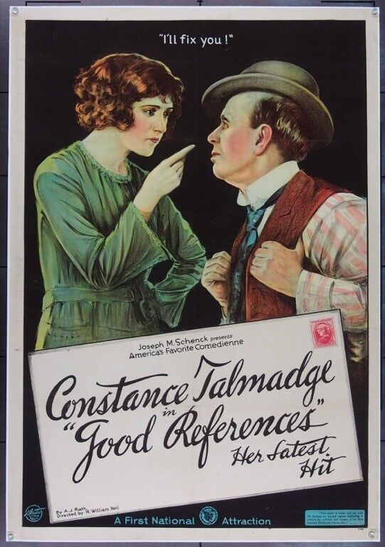 GOOD REFERENCES (1920) 25549