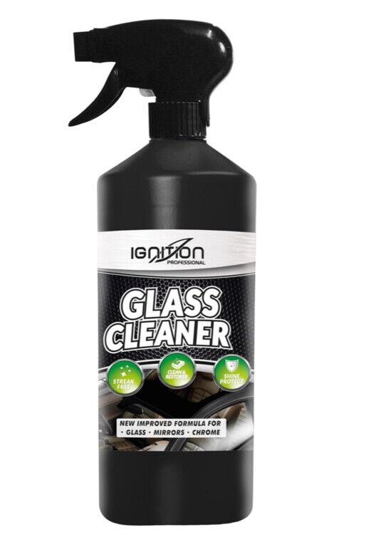 GLASS WINDOW CLEANER SPRAY STREAK FREE CLEANING SHINE CARE CAR VAN HOME 750ml