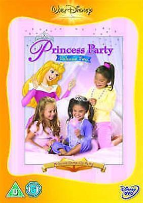 E 2 PRINCESS DRESS UP PARTY WALT DISNEY UK REGION 2 DVD NEW (Disney Princess Dress Up Uk)