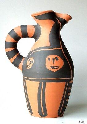 PABLO PICASSO Authentic Madoura Ceramic Yan Petites bêtes PITCHER 1963 Ramié 515