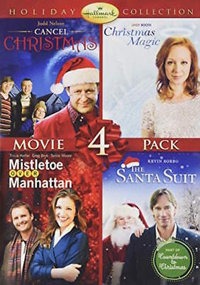 HALLMARK HOLIDAY COLLECTION DVD - MOVIE 4-PACK [2 DISCS] - NEW - CHRISTMAS for sale  Shipping to Canada