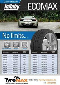 245/45x18 Infinity tyres suit Commodore brand new $110ea Lawnton Pine Rivers Area Preview