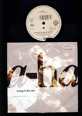 Aha - Crying in the Rain - (Seemingly) Nonstop July - 7 Inch Vinyl GERMANY