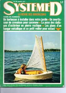 ancien magazine syst me d n 366 juillet 1976 hangar m tallique plans ebay. Black Bedroom Furniture Sets. Home Design Ideas