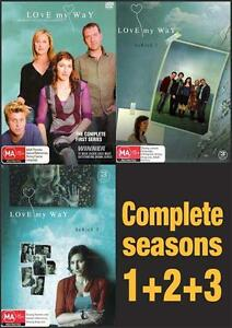 LOVE MY WAY Complete Series SEASONS 1 2 3 : NEW DVD