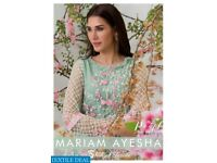 AZURE MARIAM AYESHA LUXURY PEARL COLLECTION EMBROIDERED KURTIS
