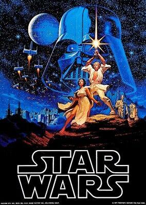 Star Wars Promotional POSTER 1977 Rare Vader Skywalker