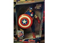Marvel Captain America Talking Figure