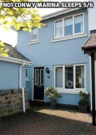 Conwy Holiday Cottage Sleeps 5 plus 2 Dogs Near Llandudno Snowdonia Beach Golf
